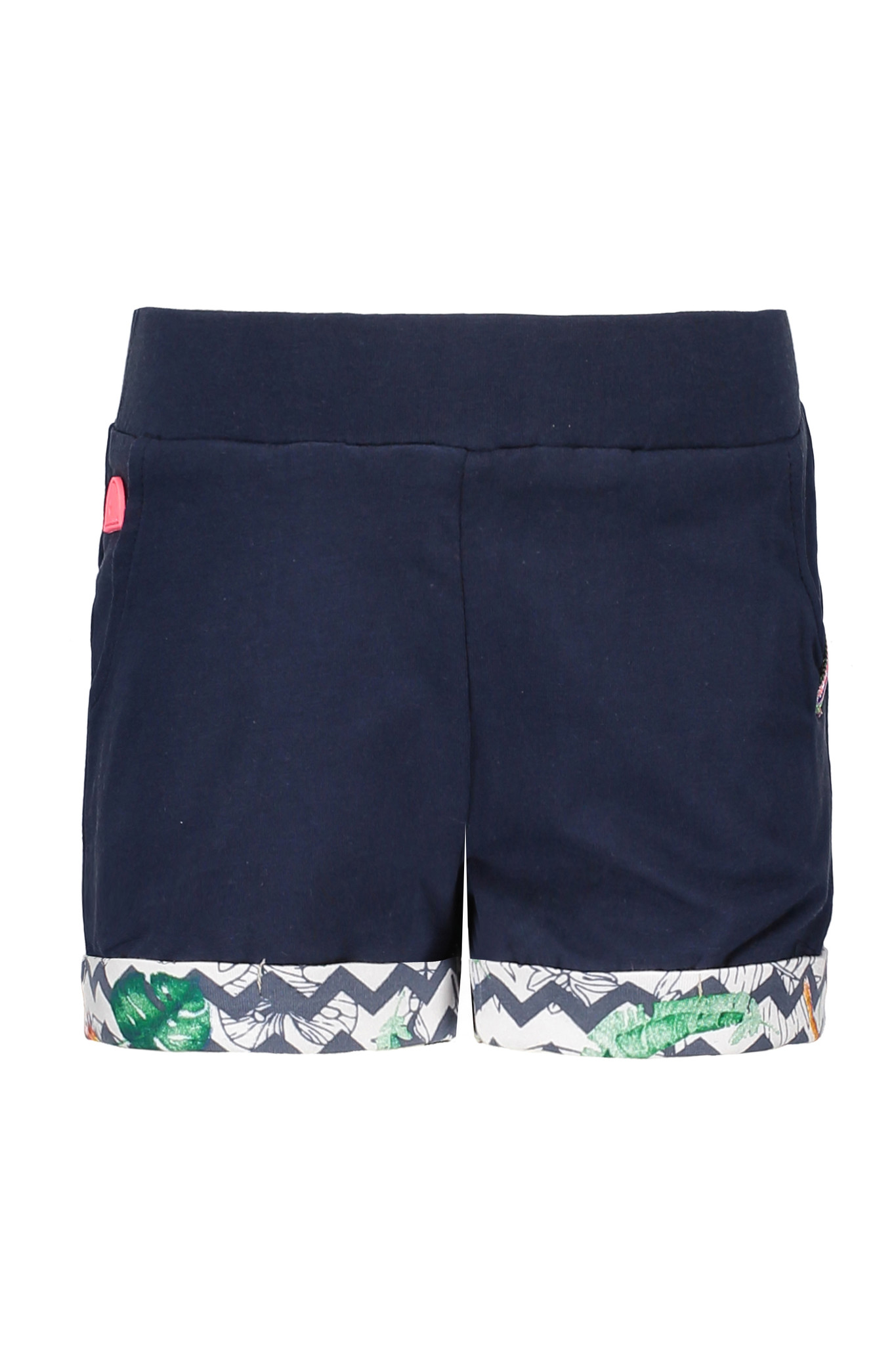B.Nosy B.Nosy short jersey rolled-up pants midnight blue