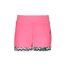 Short jersey rolled-up pants bubblegum