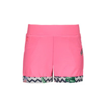 Short jersey rolled-up pants bubblegum