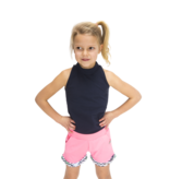 B.Nosy B.Nosy short jersey rolled-up pants bubblegum