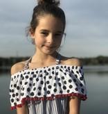 Little Miss Juliette Little Miss Juliette jurk stripes