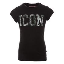 T-shirt Haydel deep black