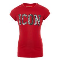 T-shirt Haydel red lollipop