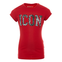 T-shirt Haydel red lollipop