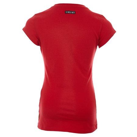 Vingino Vingino T-shirt Haydel red lollipop