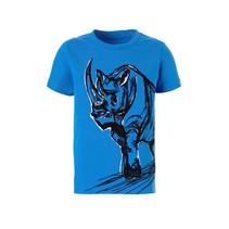 T-shirt Faster strong blue