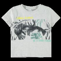 T-shirt Famil light grey melange