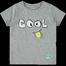 T-shirt Ziggon grey melange