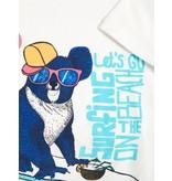 Name It Name It T-shirt Heino bright white