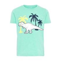T-shirt Dino ocean wave