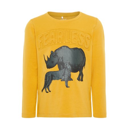 Name It Name It longsleeve Benjamin amber gold