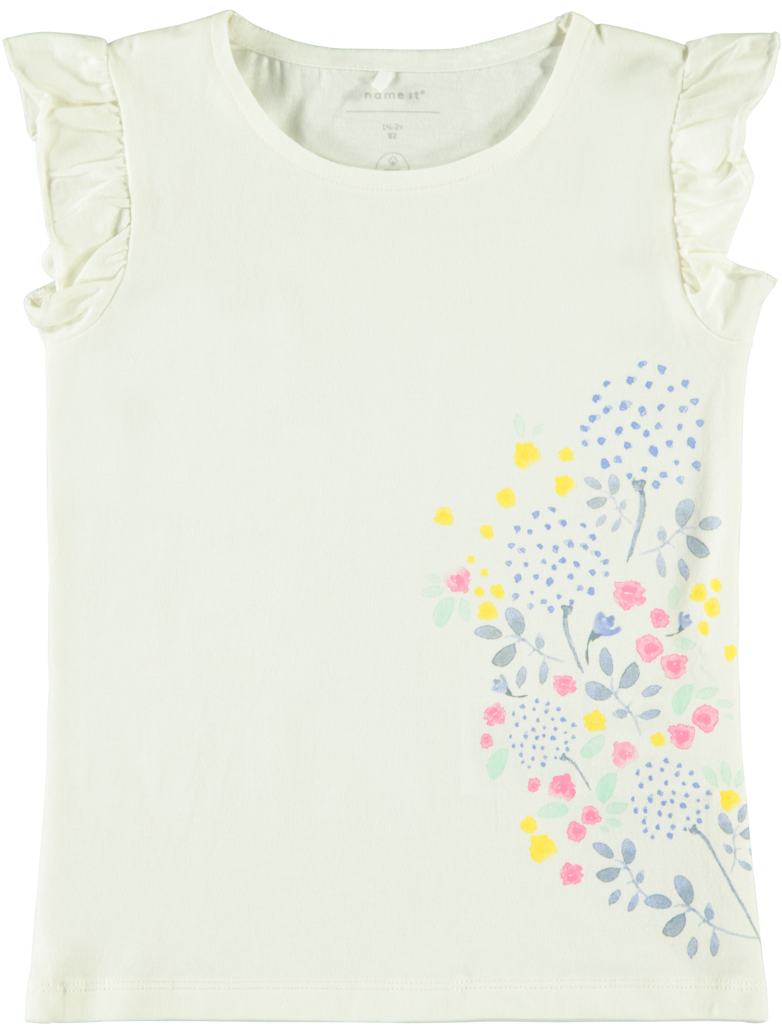 Name It Name It T-shirt Fifully snow white