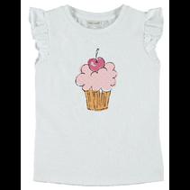 T-shirt Vibeke bright white