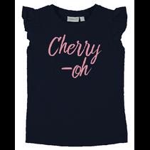 T-shirt Vibeke dark sapphire