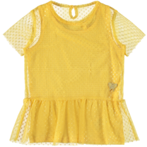 T-shirt Finice pale marigold
