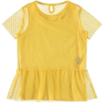 T-shirt Finice pale marigold