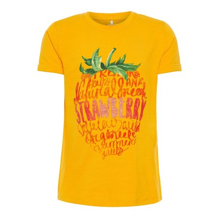 Name It Name It T-shirt Sigrid cadmium yellow