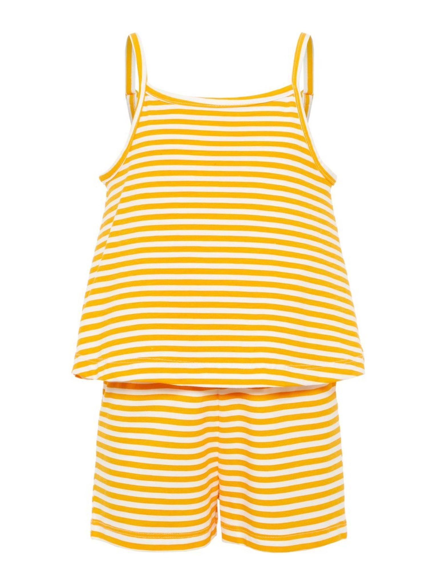 Name It Name It jumpsuit Palma cadmium yellow