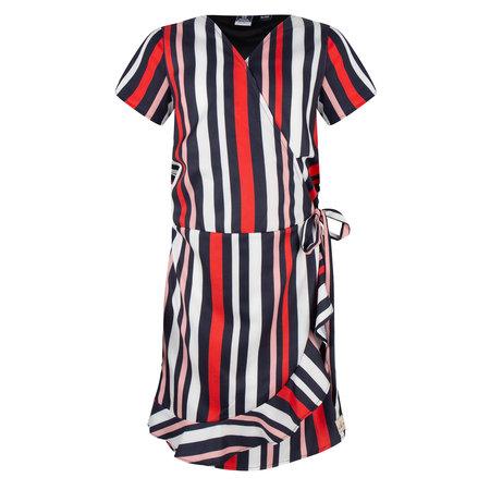 Indian Blue Jeans Indian Blue Jeans jurk wrap striped