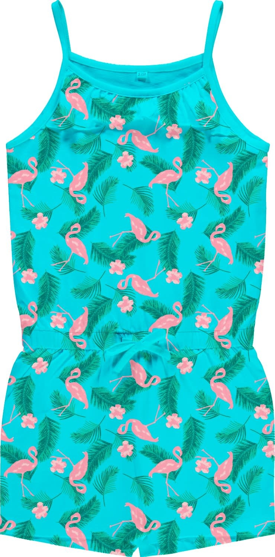Name It Name It jumpsuit Vigga bachelor button aop flamingo