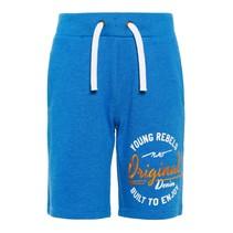 Short Hasper sweat long strong blue