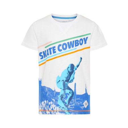 Name It Name It T-shirt Horten bright white