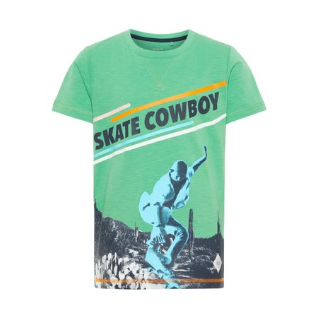Name It Name It T-shirt Horten green spruce