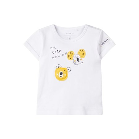 Name It Name It T-shirt Henno bright white