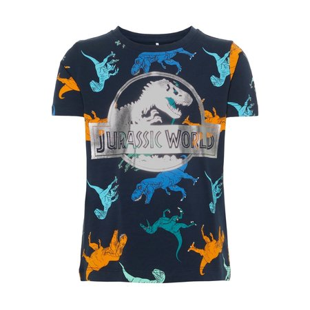 Name It Name It T-shirt Jurassic titan dark sapphire