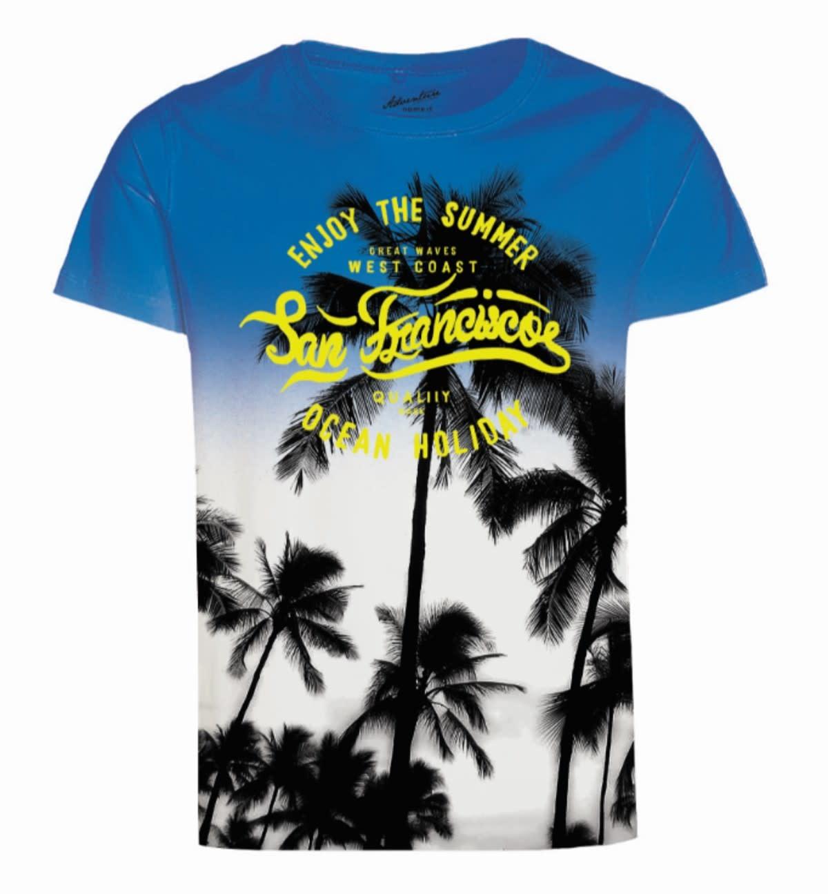 Name It Name It T-shirt Junano strong blue
