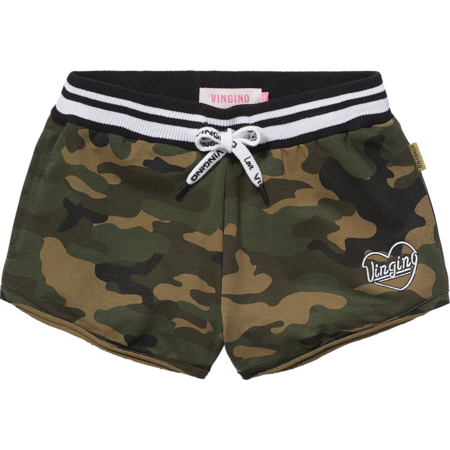 Vingino Vingino short Rain army all-over