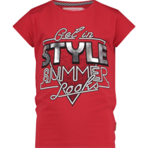 T-shirt Helmi red lollipop