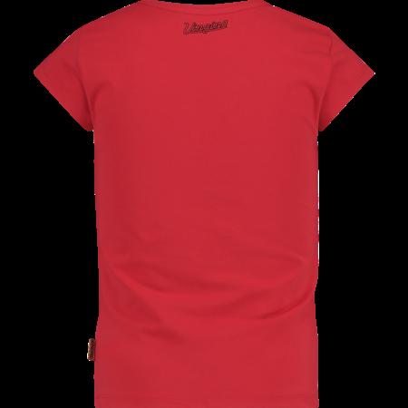 Vingino Vingino T-shirt Helmi red lollipop