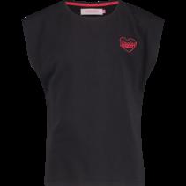 T-shirt Hienne deep black