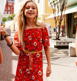 Vingino Vingino jurk Primma red lollipop