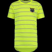 T-shirt Hichiro neon yellow