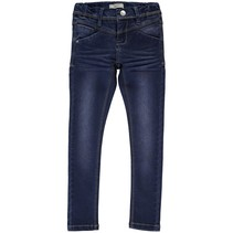 Spijkerbroek Sus indigo skinny dark blue denim