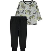 Pyjama grey melange glow