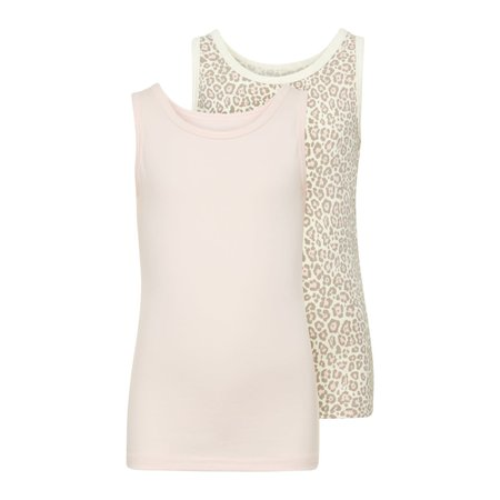 Name It Name It tanktop 2-pack barely pink aop
