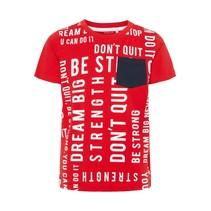 T-shirt Kadir mars red