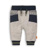 Dirkje Dirkje joggingbroek go get them tiger grey melee + stripe + navy
