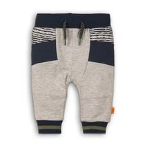 Joggingbroek go get them tiger grey melee + stripe + navy