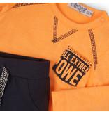 Dirkje Dirkje 2-delig setje power champions faded orange + navy