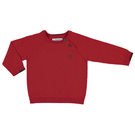 Mayoral Mayoral trui basic cotton red