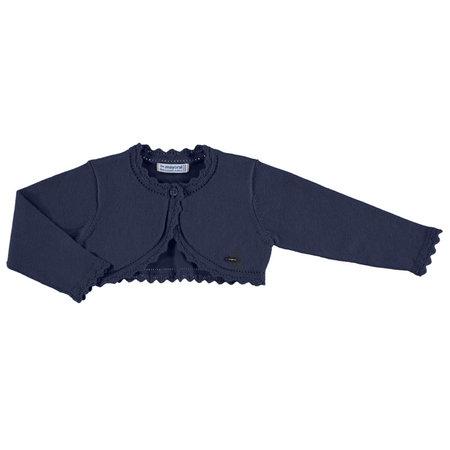 Mayoral Mayoral bolero basic knitted navy
