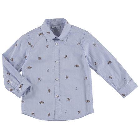 Mayoral Mayoral blouse lightblue