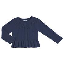 Vest knit navy