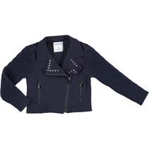Jasje tricot navy