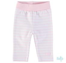 Feetje broekje stripe rose
