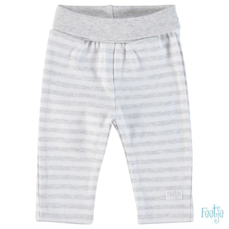 Feetje Feetje broekje stripe grijs
